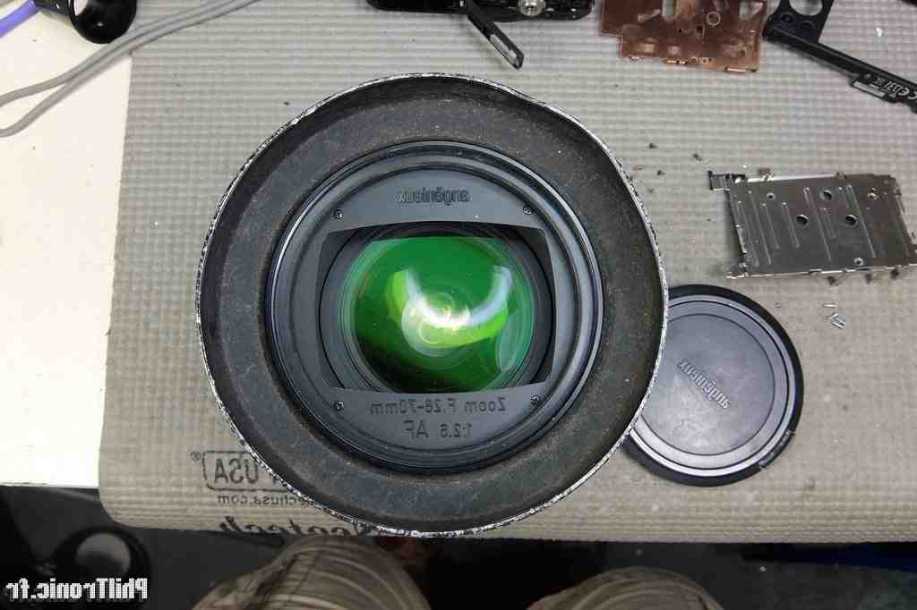 Comment ouvrir le zoom de la caméra?